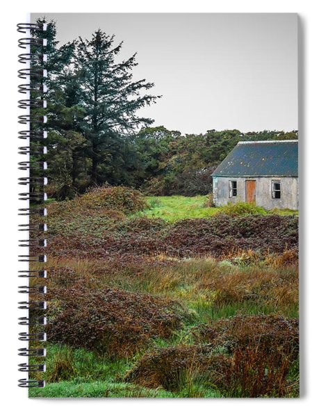Cottage In The Irish Countryside Spiral Notebook