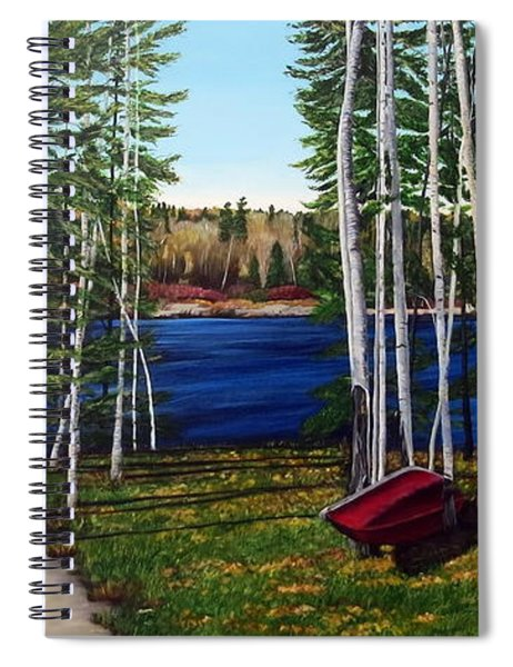 Cottage Life Spiral Notebook