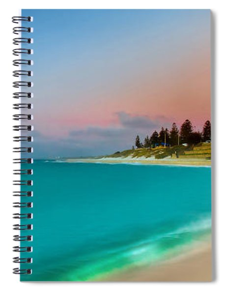 Cottesloe Beach Sunset Spiral Notebook