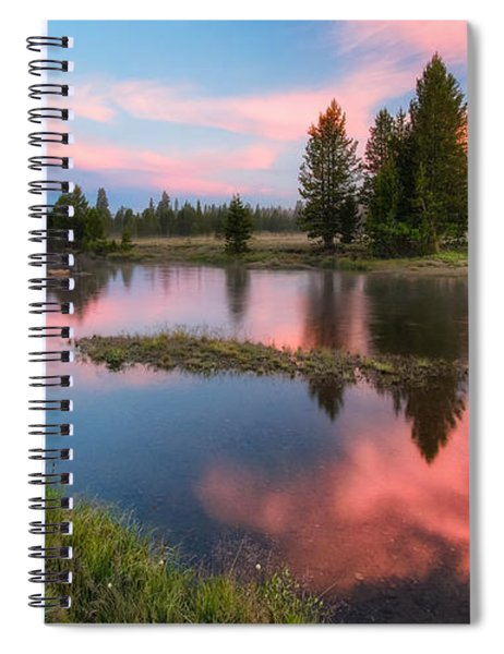 Cotton Candy Skies Spiral Notebook