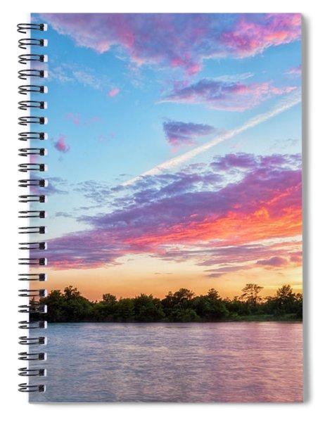 Cotton Candy Sunset Spiral Notebook