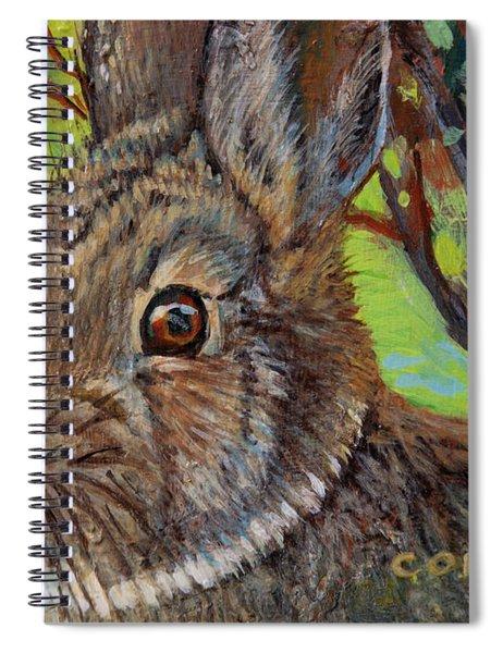 Cotton Tail Rabbit Spiral Notebook