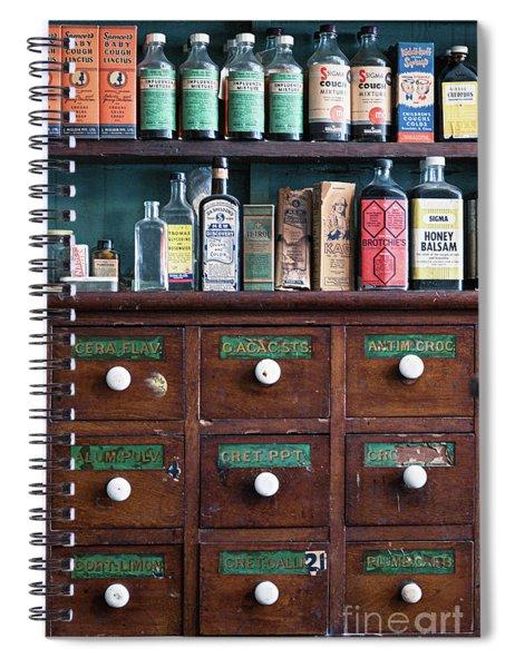 Cough Mixtures Spiral Notebook