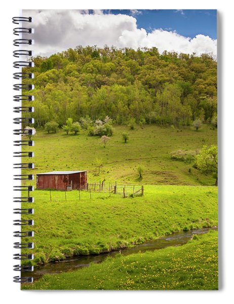 Coulee Morning Spiral Notebook