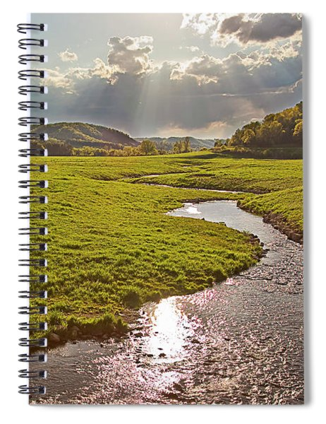 Coulee View Spiral Notebook