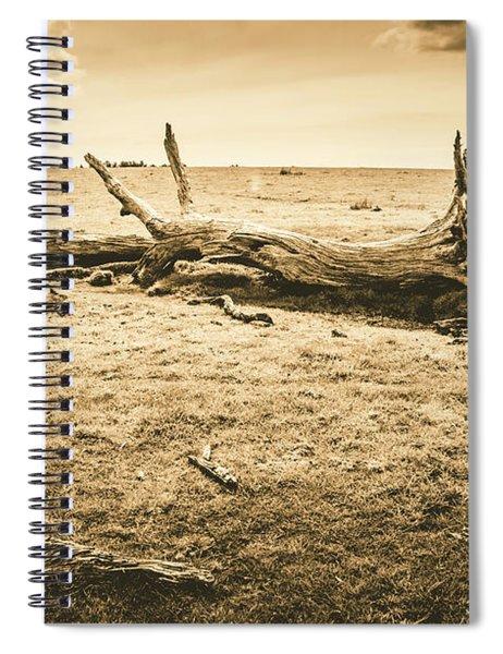 Countrified Australia Spiral Notebook