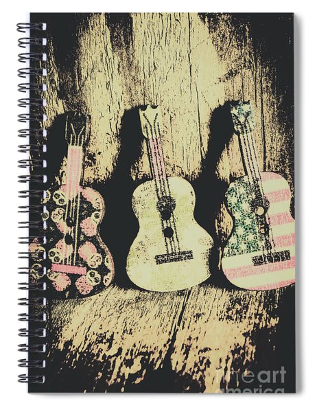 Country And Western Saloon Songs Spiral Notebook