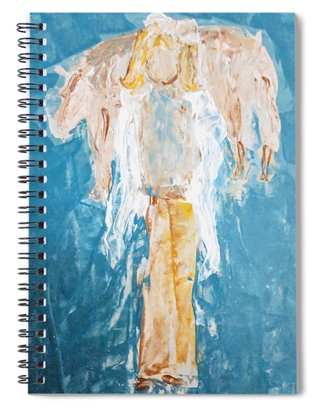 Country Angel Spiral Notebook