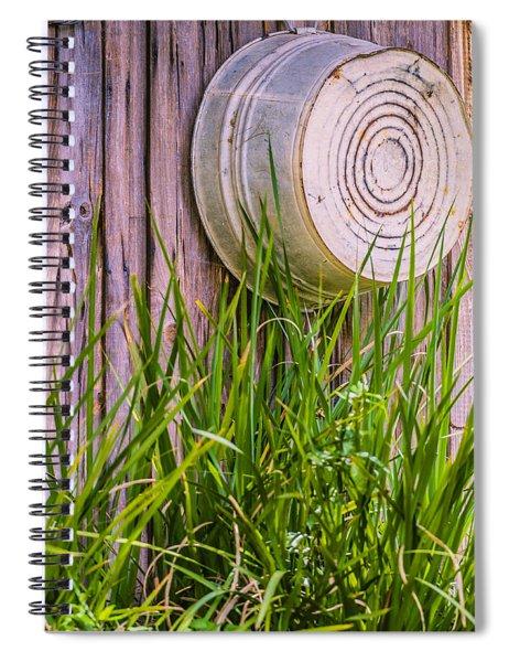 Country Bath Tub Spiral Notebook