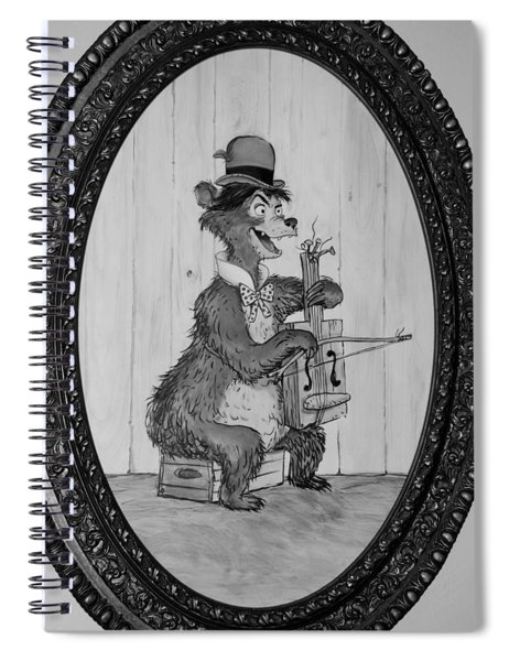 Country Bear Spiral Notebook