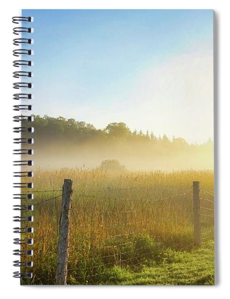 Country Fencerow Spiral Notebook