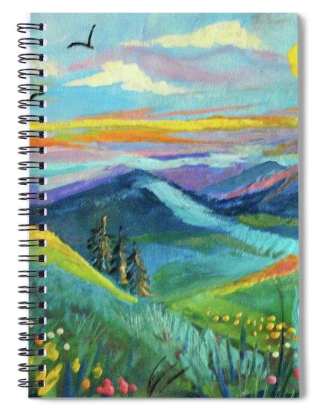 Country Hills Spiral Notebook