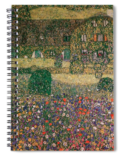 Country House By The Attersee Spiral Notebook