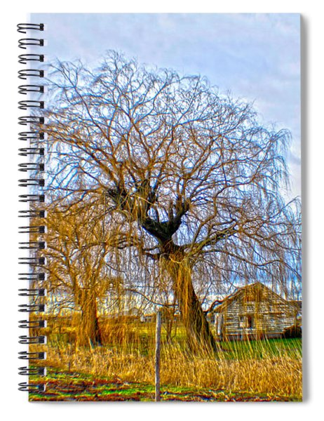 Country Life Artististic Rendering Spiral Notebook