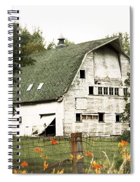 Country Lilies Spiral Notebook