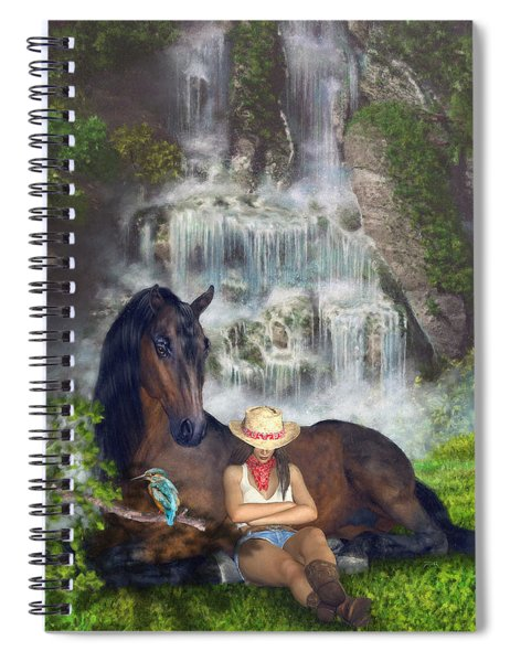 Country Memories 1 Spiral Notebook