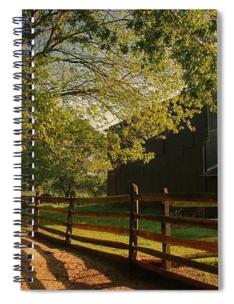 Country Morning - Holmdel Park Spiral Notebook