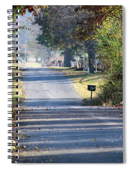Country Road Of My Memory Spiral Notebook