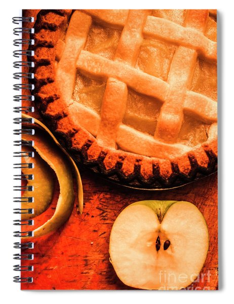 Country Style Baking Spiral Notebook