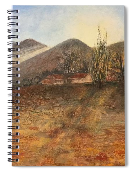 Country Sunset Spiral Notebook