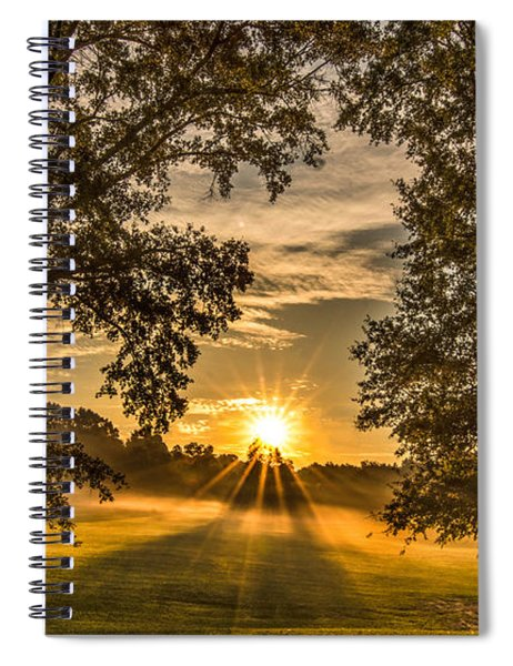 Country Time Rise Spiral Notebook
