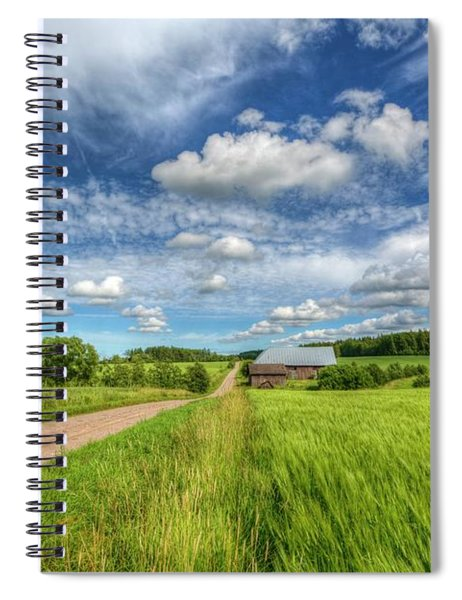 Countryside II Spiral Notebook