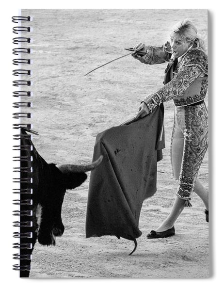 Coup De Grace In Pink Spiral Notebook