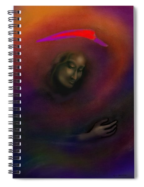 Courage To Create Spiral Notebook