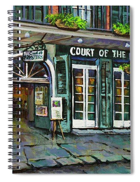 Court Of The Two Sisters Spiral Notebook