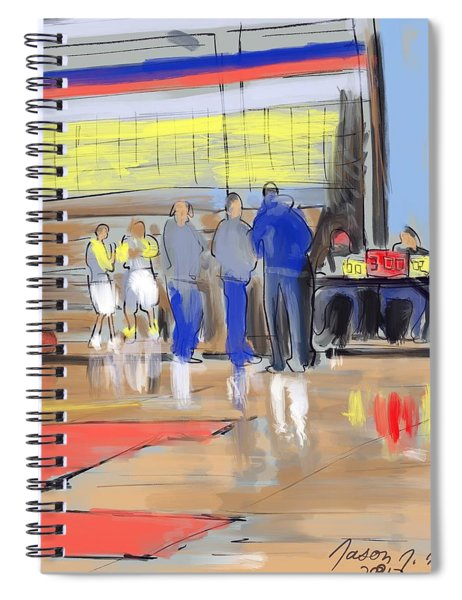 Court Side Conference Spiral Notebook