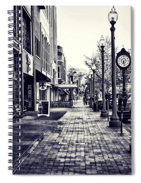 Court Street Clock Florence Alabama Spiral Notebook