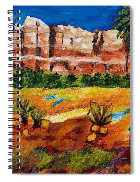 Courthouse Butte Rock, Sedona Arizona Spiral Notebook