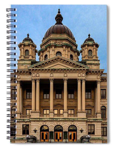 Courthouse Spiral Notebook