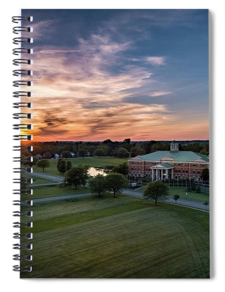 Courthouse Sunset Spiral Notebook