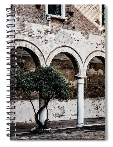 Courtyard Spiral Notebook