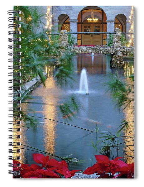 Courtyard Garden Spiral Notebook