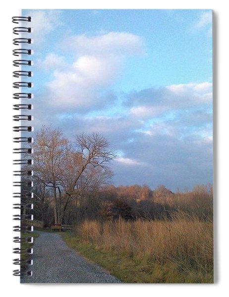 Covered Bridge Spiral Notebook