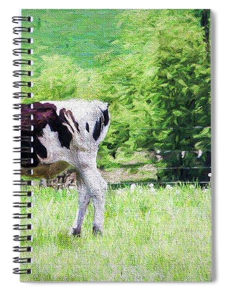 Cow Grazing Spiral Notebook