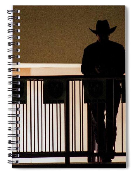 Cowboy Profile Spiral Notebook