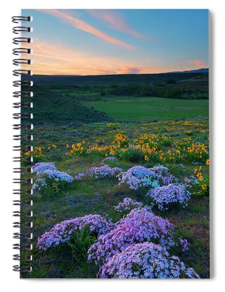 Cowiche Sunset Spiral Notebook