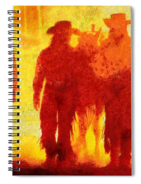 Cowpeople Spiral Notebook