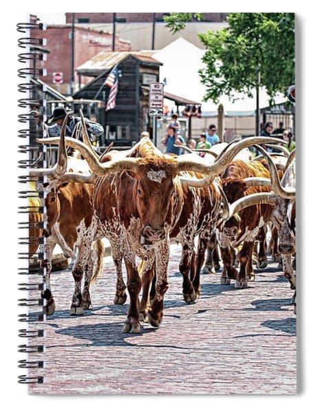 Cowtown Stockyards Spiral Notebook
