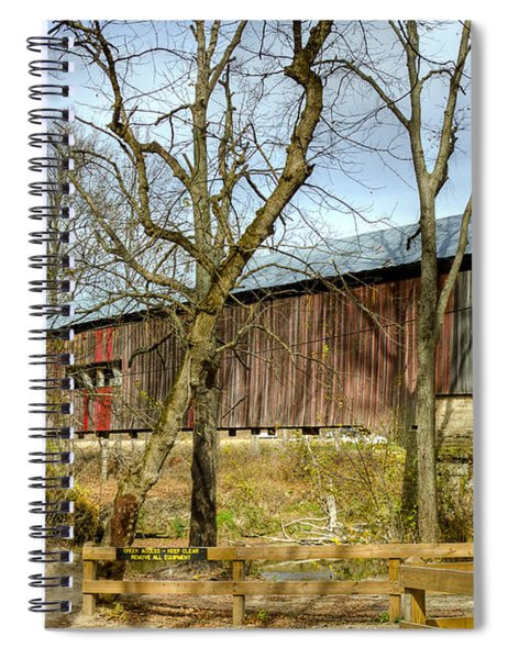 Cox Ford Covered Bridge Spiral Notebook