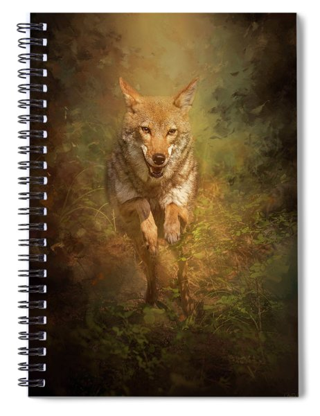 Coyote Energy Spiral Notebook