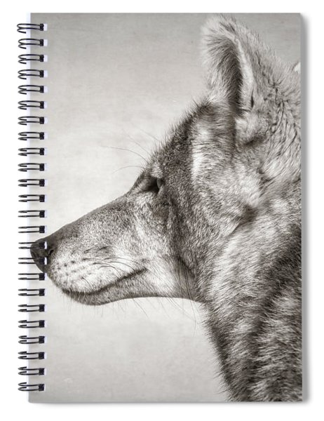 Coyote Profile Spiral Notebook