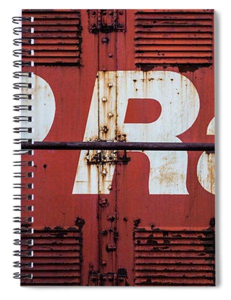 Cp Rail Spiral Notebook