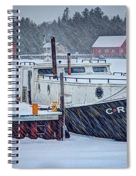 Cr Tug Spiral Notebook