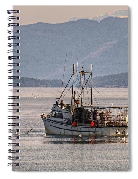 Crabbing Spiral Notebook