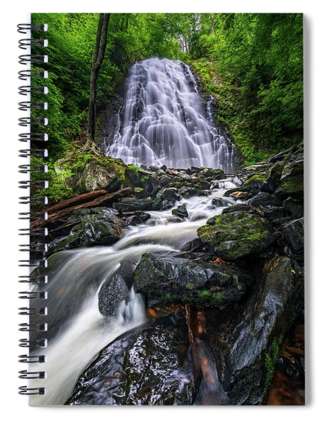 Crabtree Falls North Carolina Spiral Notebook