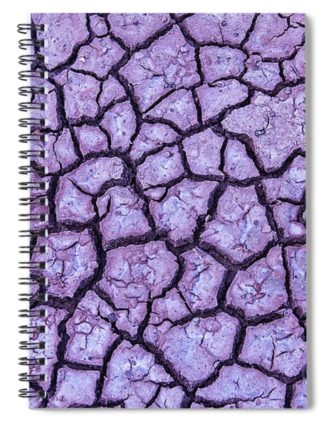Cracked Earth Spiral Notebook